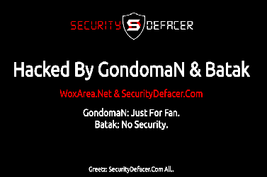 security defacer